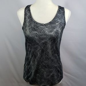 NIKE DRIFIT RAZOR BACK ATHLETIC TOP NIKE RUNNING